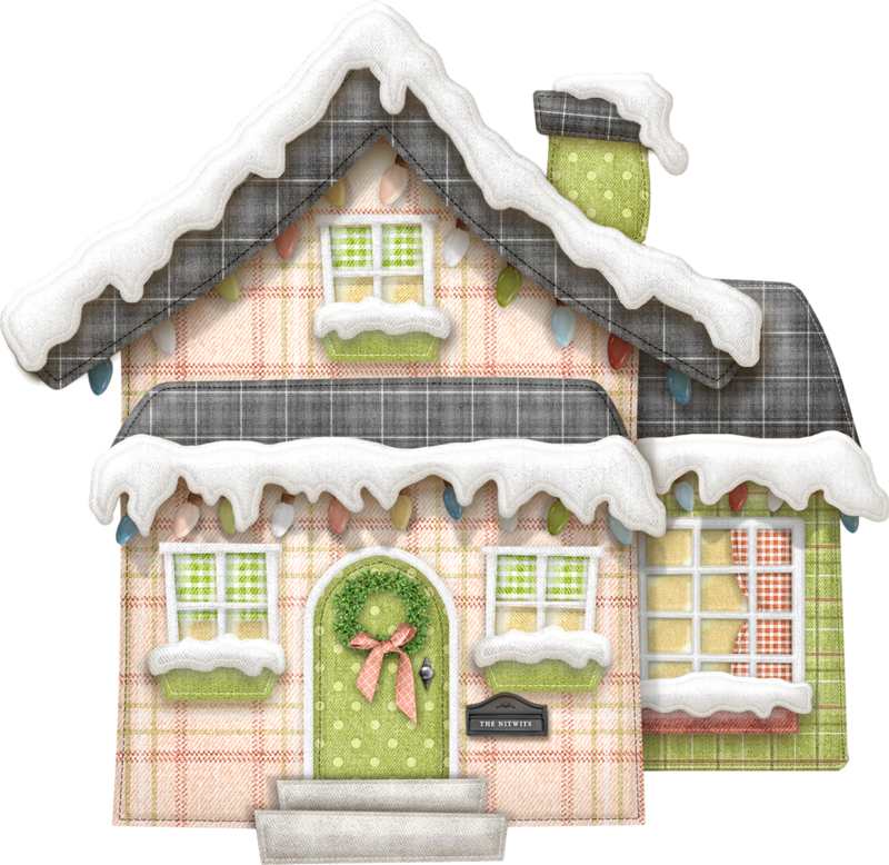Nitwitville clip art christmas. Cottage clipart old fashioned house