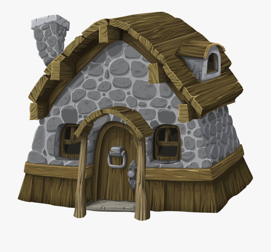 Png royalty free download. Cottage clipart peasant house