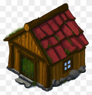 Cottage clipart peasant house. Free png clip art