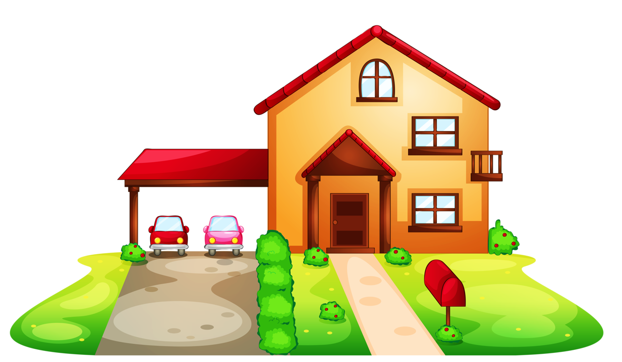 House clipart doodle.  png mosaics and