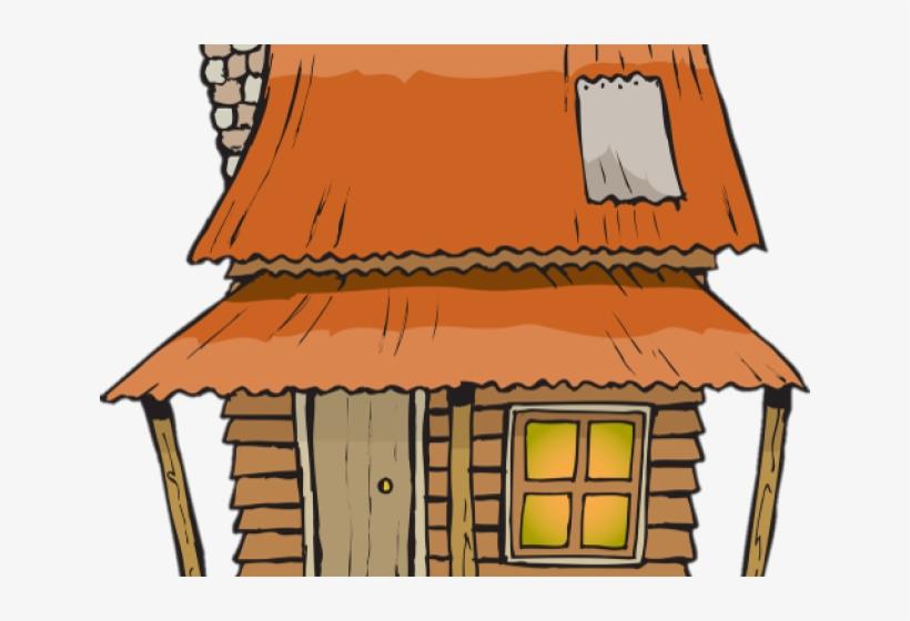 Shack clip art transparent. Cottage clipart poor house