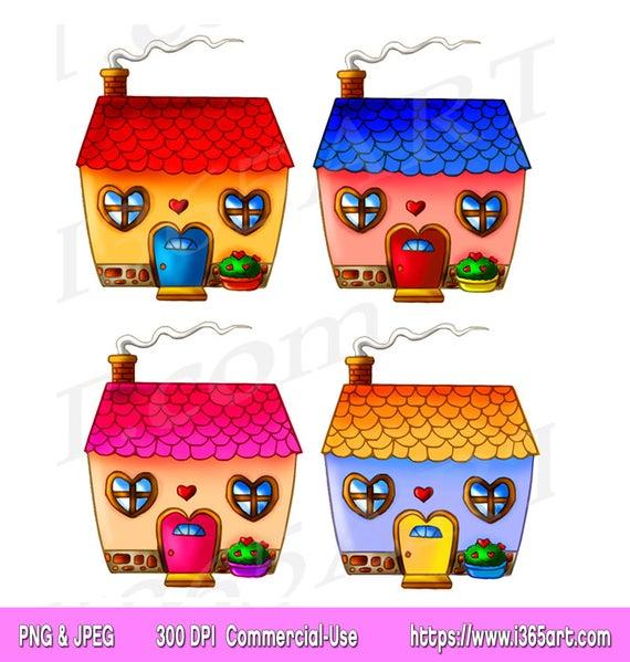 Cottage clipart pretty house.  off cute clip