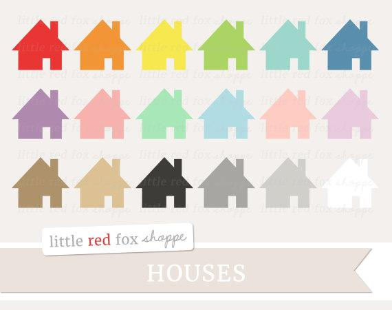 Cottage clipart pretty house. Moving clip art cabin