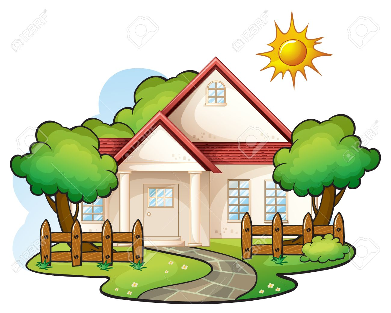 Images free download best. Cottage clipart pretty house