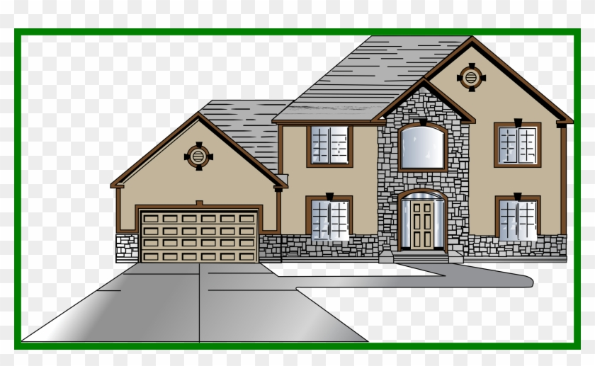 Royalty free stock appealing. Cottage clipart pretty house