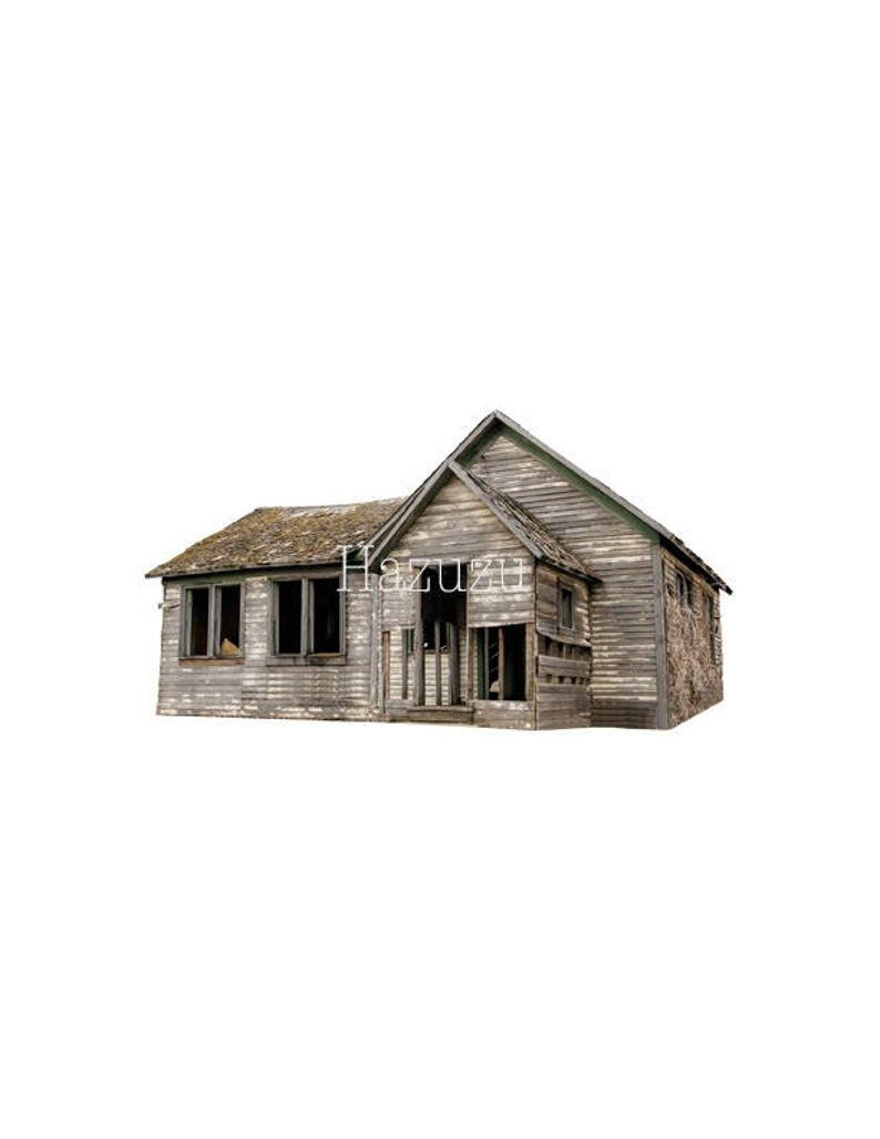 Cottage clipart rustic house. Old abandoned png farm