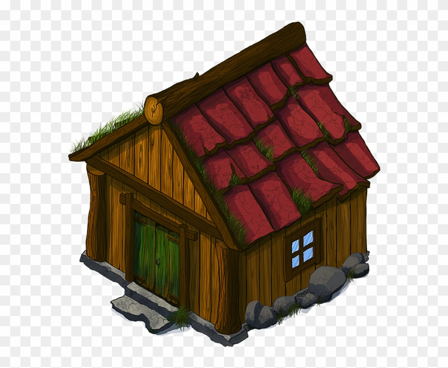 D png download . Cottage clipart simple house