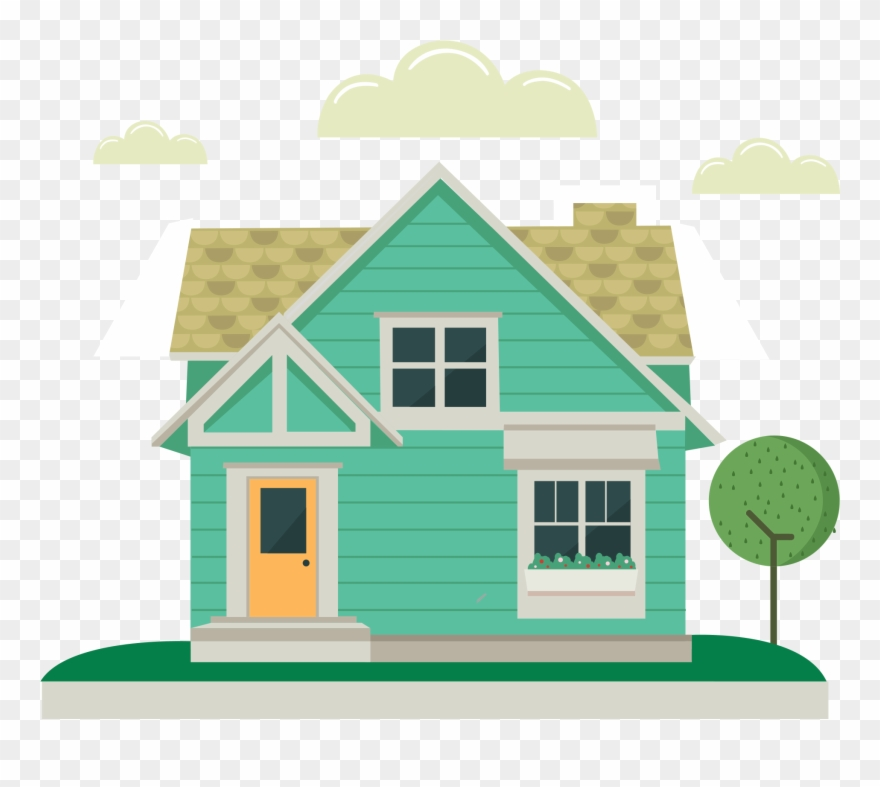 Cottage clipart simple house. The idea is pinclipart