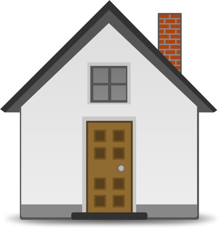 Cottage clipart simple house. Medium image png