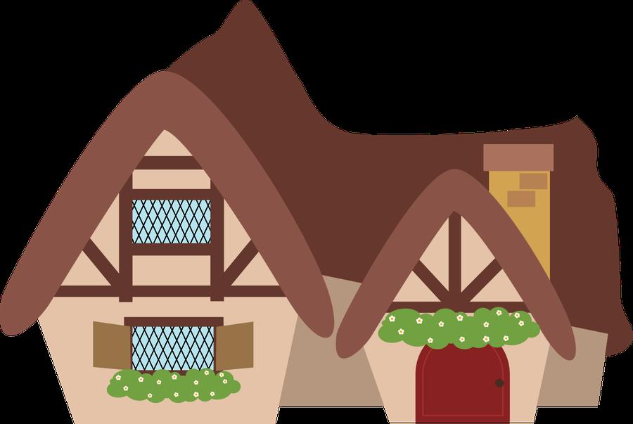 Houses snow white