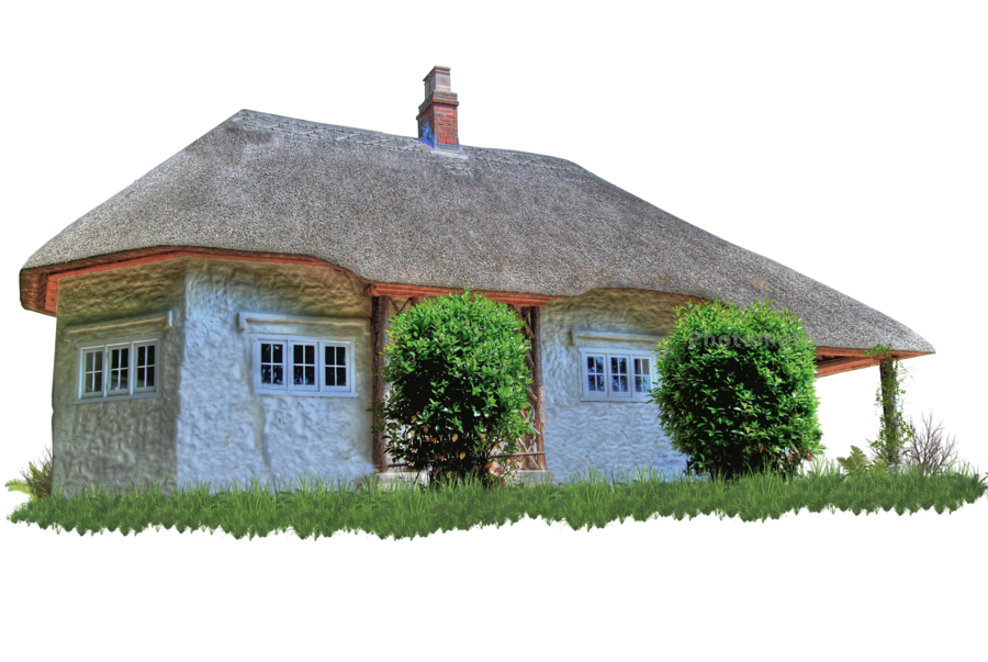 Cottage clipart thatch. The faucheur manor by
