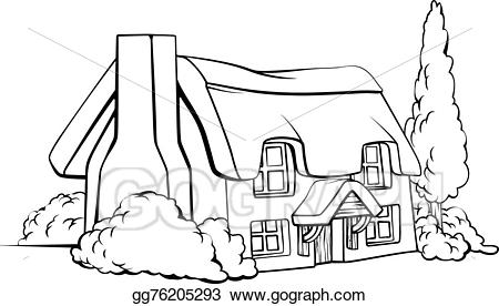 Thatch x free clip. Cottage clipart thatched roof