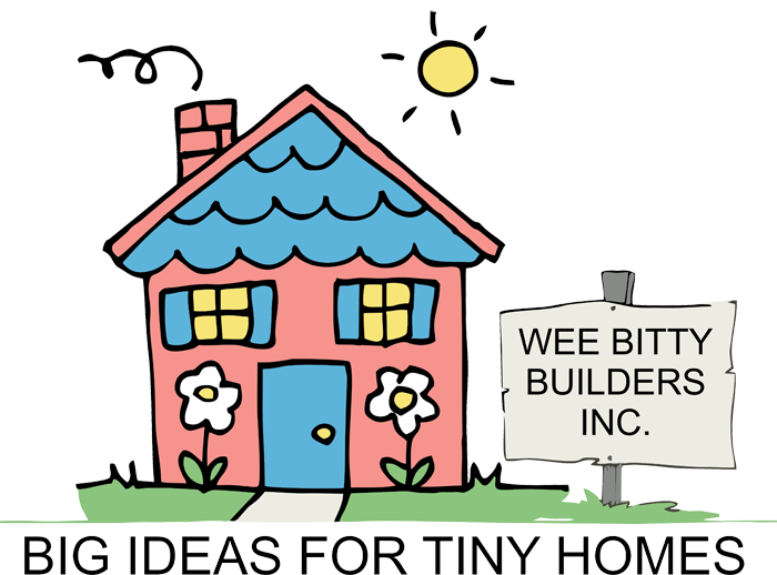 Home wee bitty builders. Cottage clipart tiny house