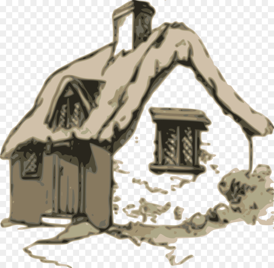 Cottage clipart transparent. Tree drawing illustration graphics