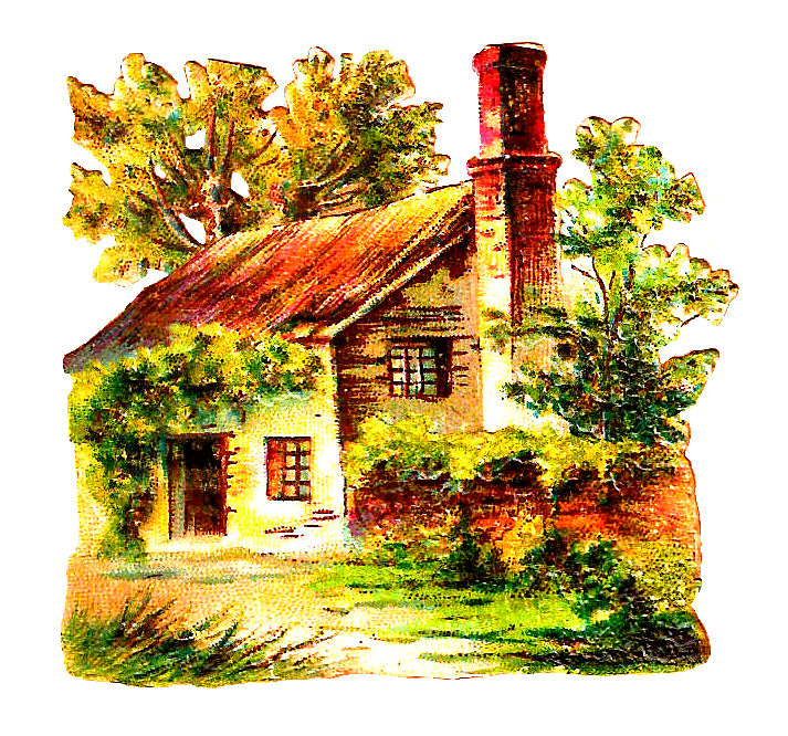 Farmhouse clipart victorian home. Antique images free house