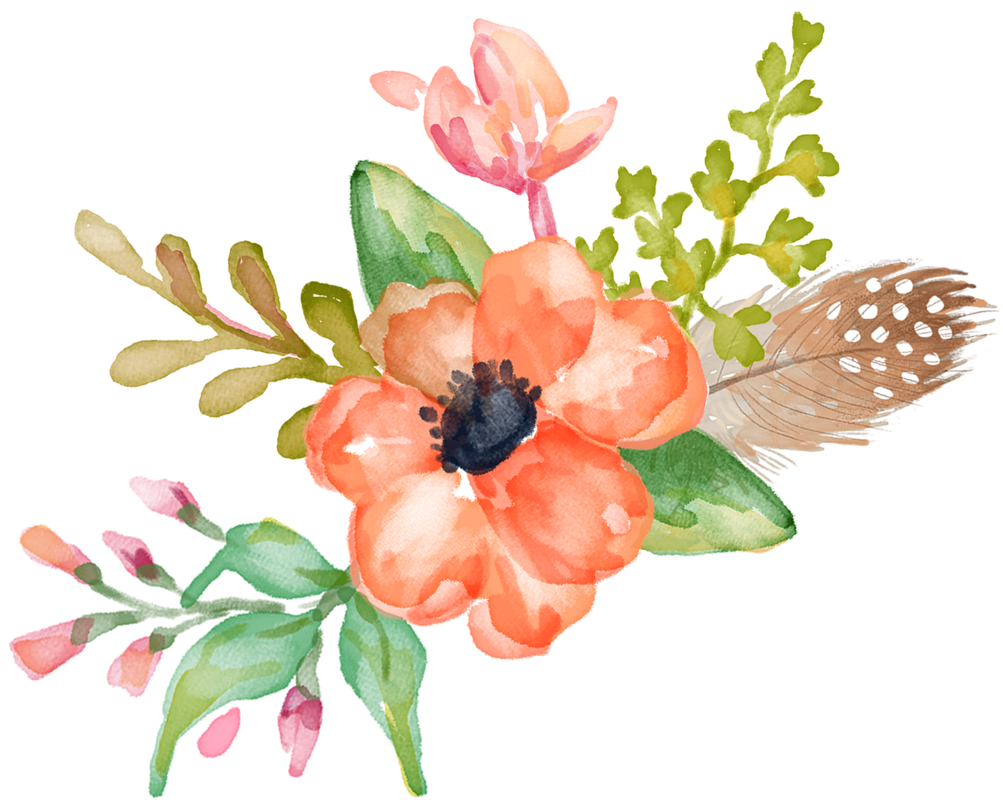 Watercolour pinterest. Winter clipart watercolor