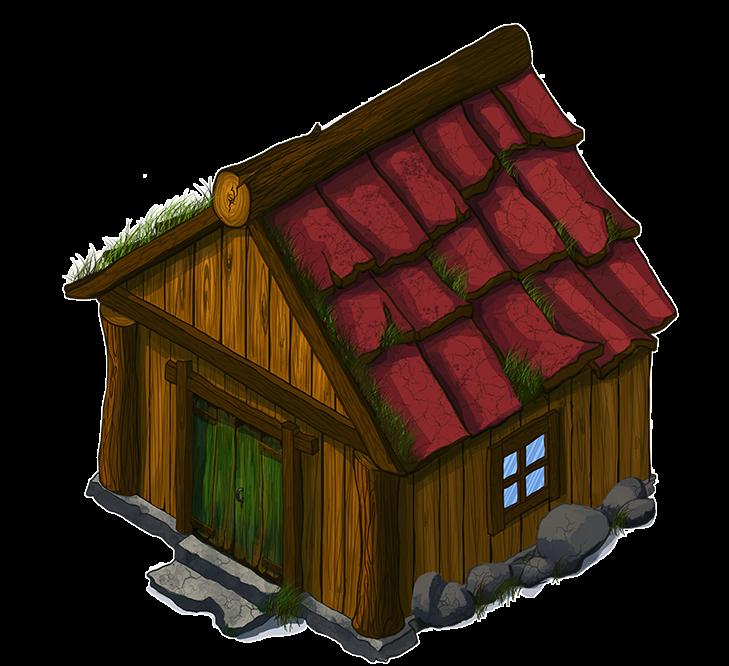 House cartoon png. Log cabin wood clip