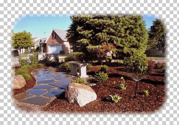 Cottage clipart yard. Aesthetic gardener llc backyard