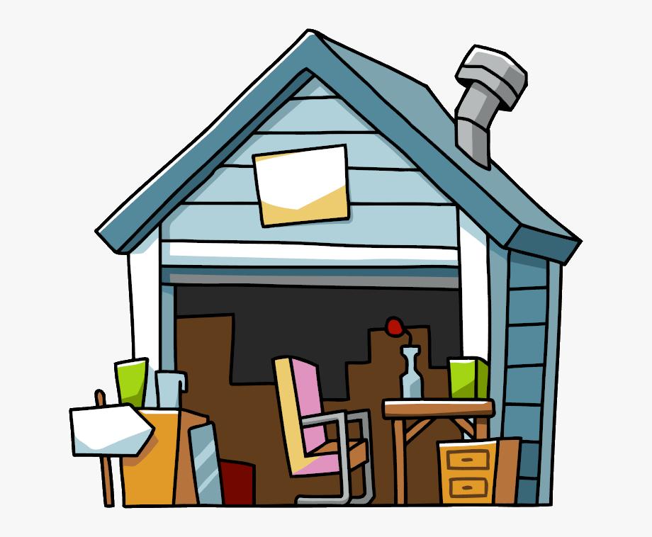 Garage sale scribblenauts wiki. Cottage clipart yard