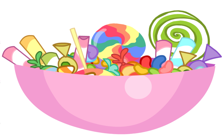 Movies clipart candy. Counter nightmare night bowl