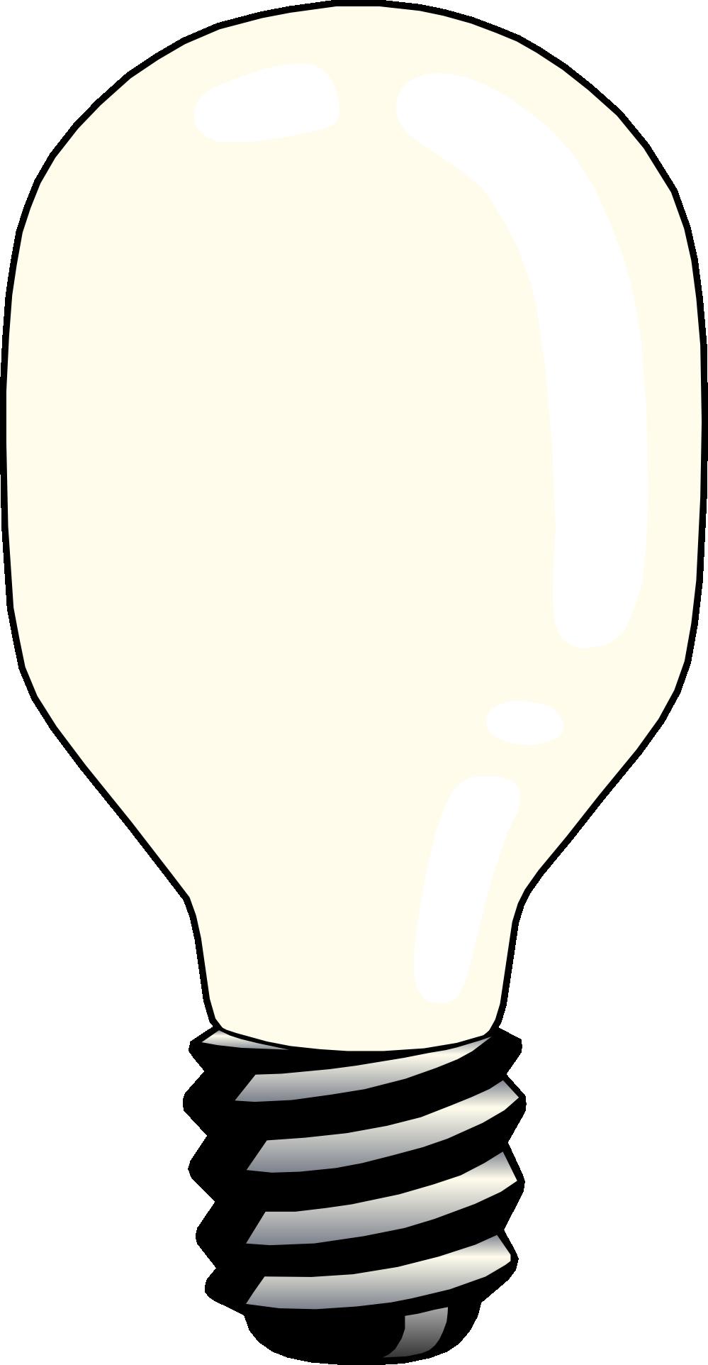 Cfl light clip art. Cotton clipart bulb