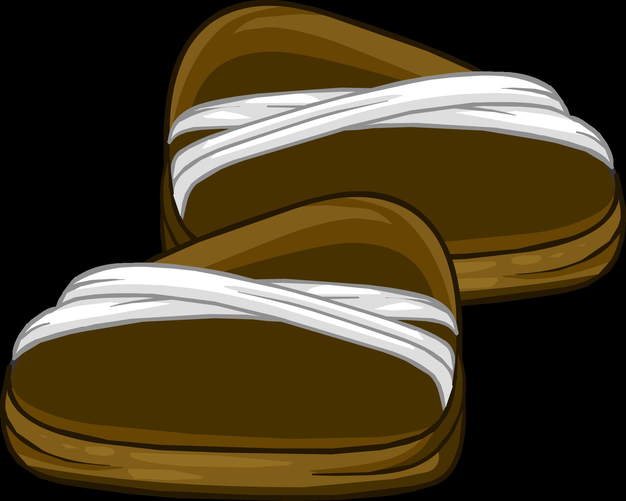 Cotton clipart coton. Sandals club penguin wiki