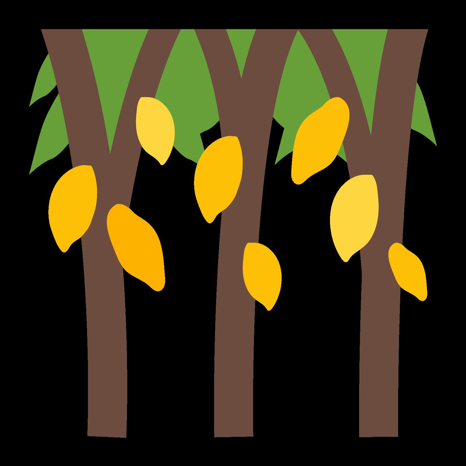 Cotton clipart cotton plantation. Fruit tree icon free