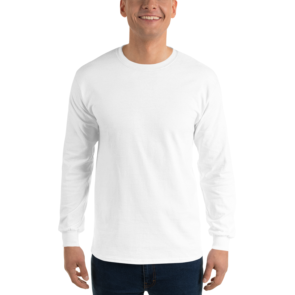 Cotton clipart cotton shirt. Gildan ultra long sleeve