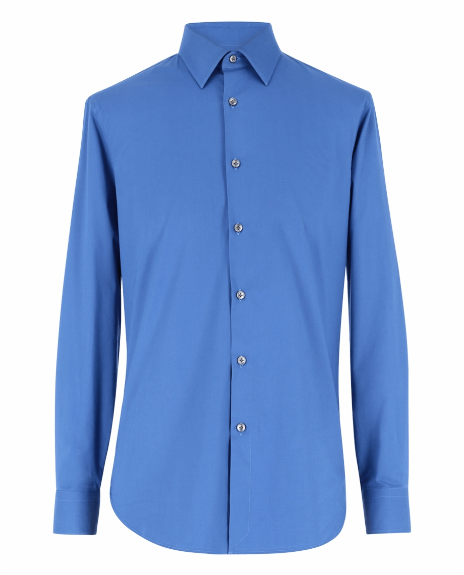 Cotton clipart cotton shirt. Cerulean slim fit formal