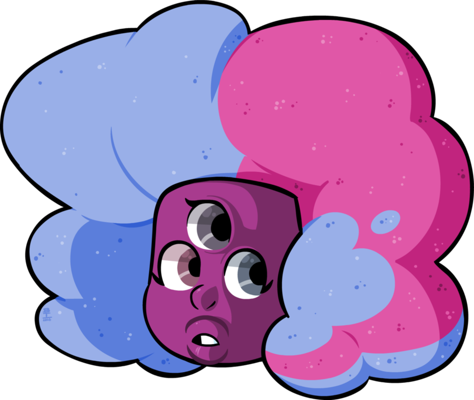 Cotton clipart pink blue cotton candy. Gem by wazzaldorp on