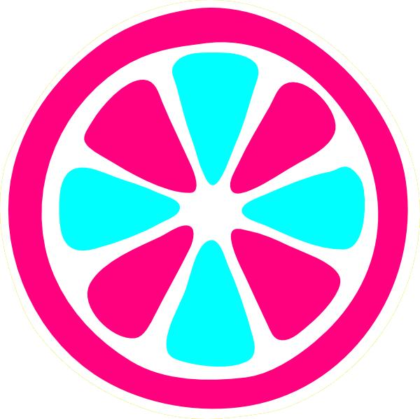 Lemon slice clip art. Cotton clipart pink blue cotton candy