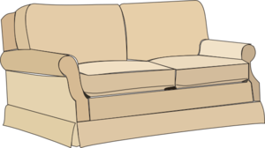Couch clipart. Clip art panda free