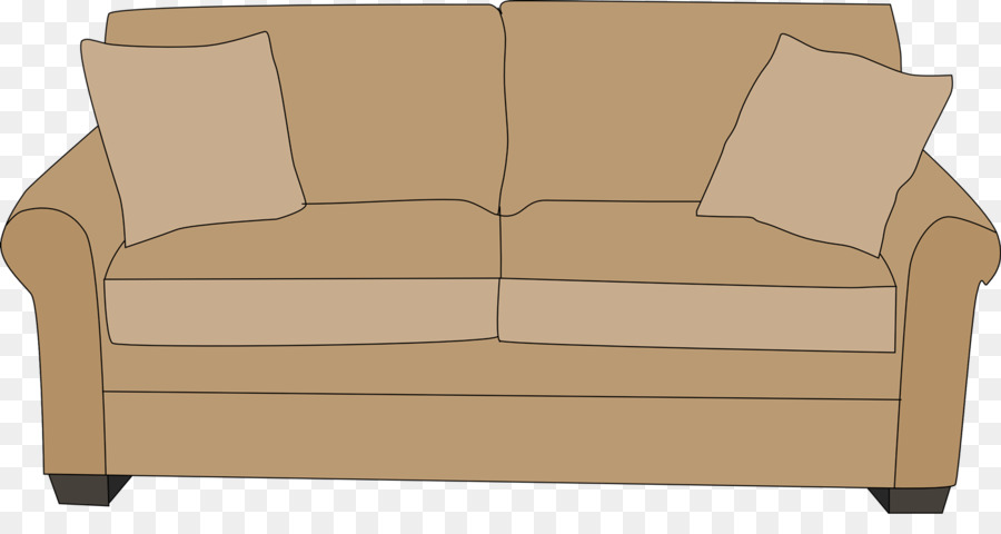 Furniture clipart cute. Table couch living room