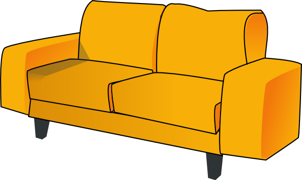 Couch clipart. Free images download clip