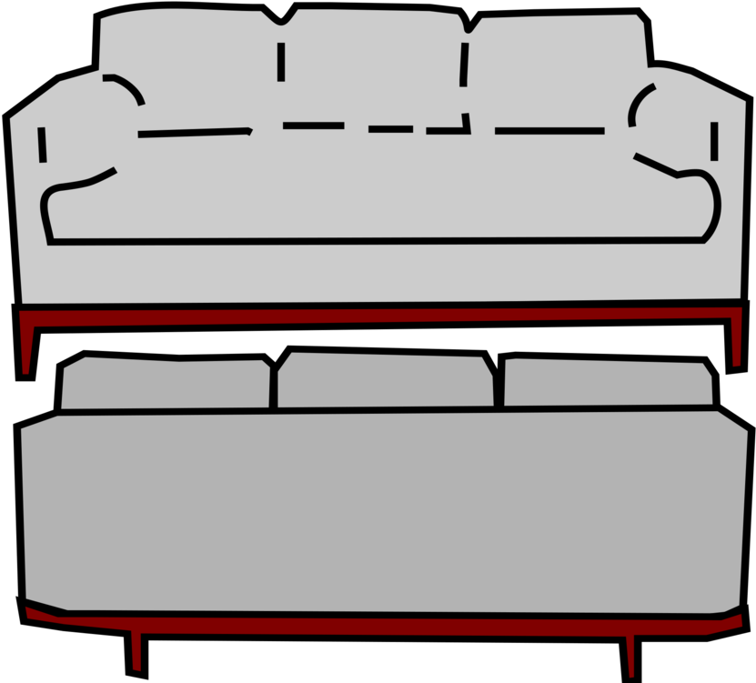 Hd free gray front. Couch clipart back couch