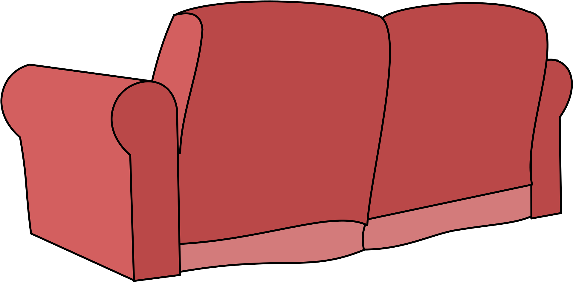 Couch clipart bedroom. Kisspng chair living room