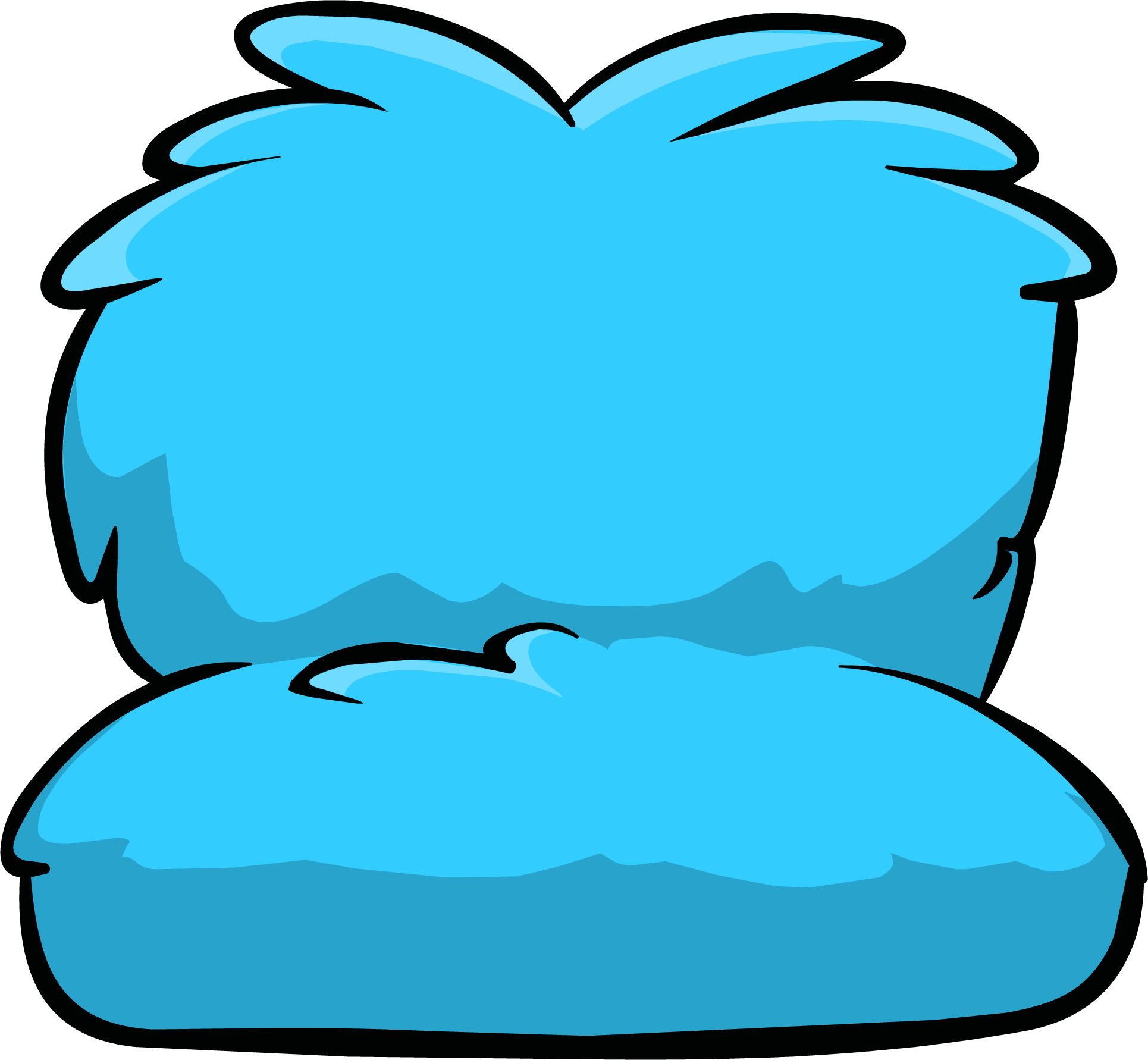 Couch clipart blue couch. Image fuzzy icon id