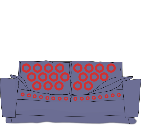 Phish tour clip art. Couch clipart blue couch