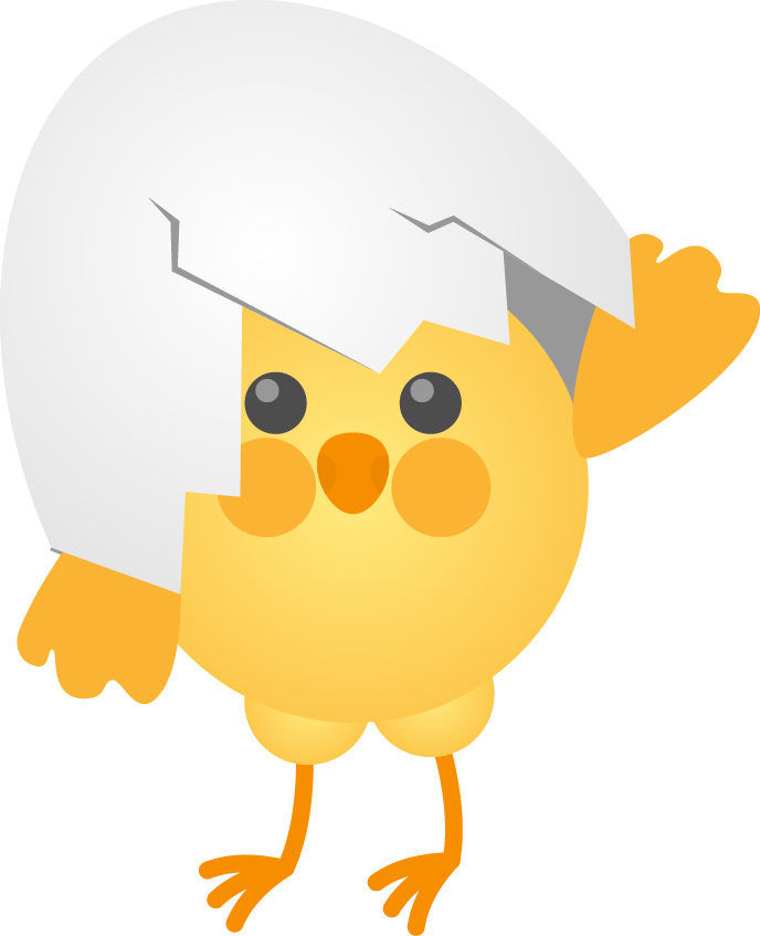 Chicken cartoon clip art. Egg clipart egg shell