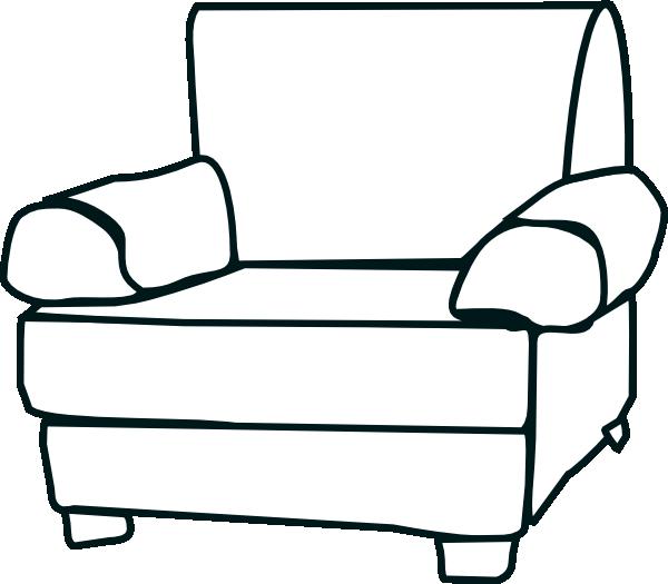 Couch clipart broken. Armchair clip art at