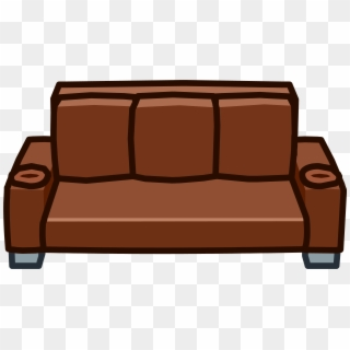 Png images free transparent. Couch clipart brown couch