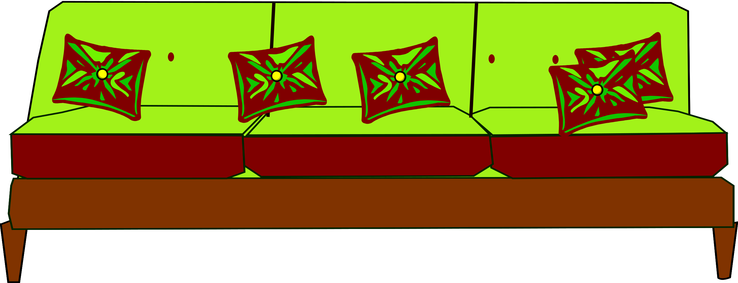 Designed big image png. Couch clipart canape