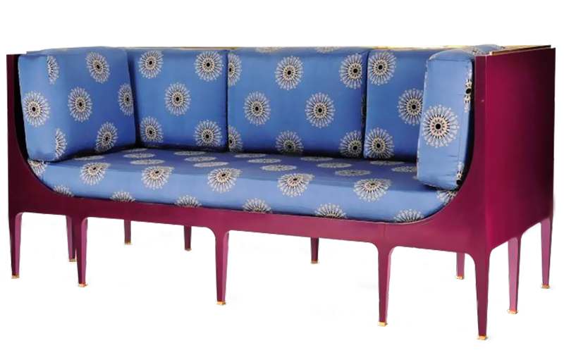 Sofa great th century. Couch clipart canape