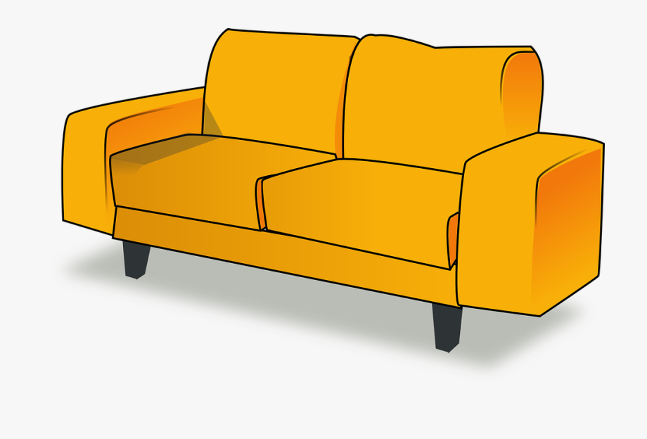 couch clipart canape