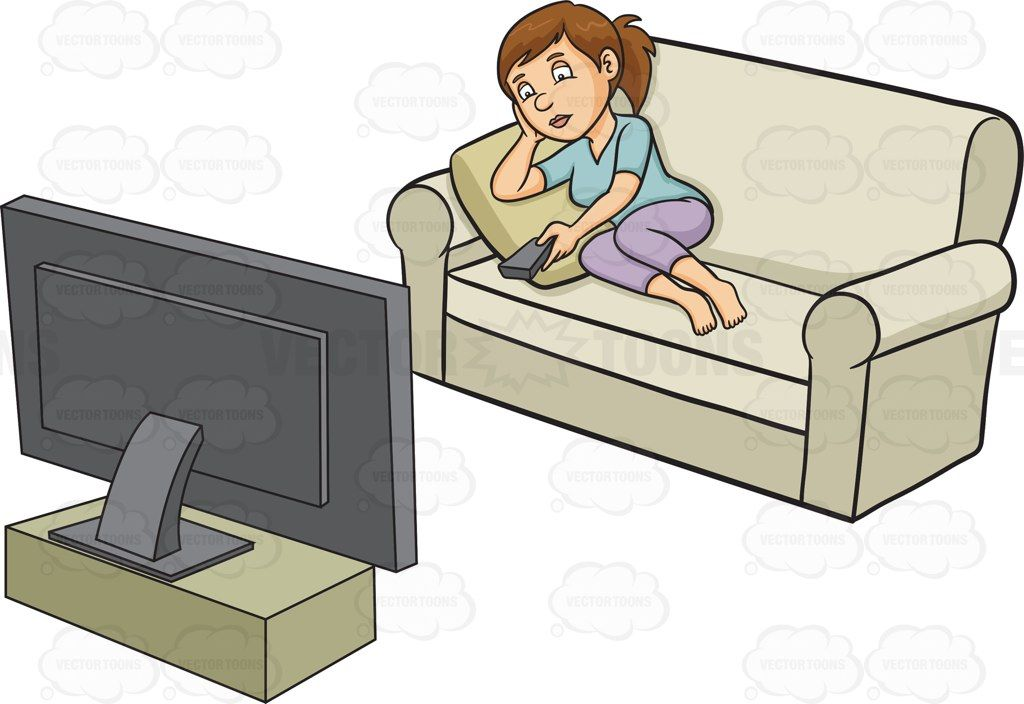 Pin on . Couch clipart couch tv