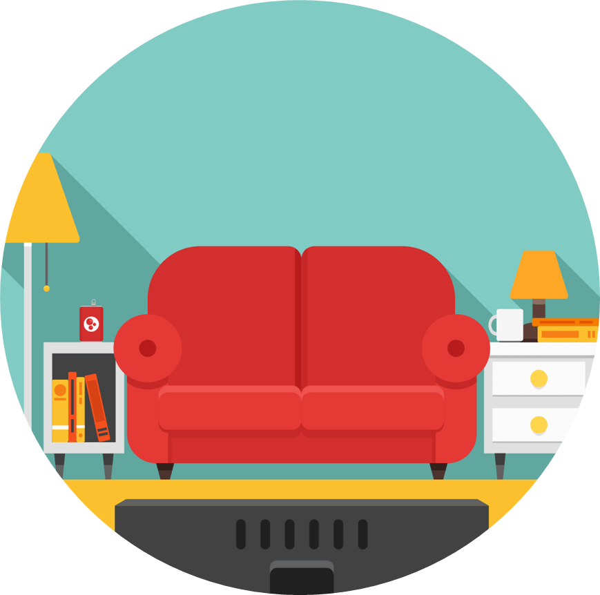 Couch clipart couch tv. Spyn