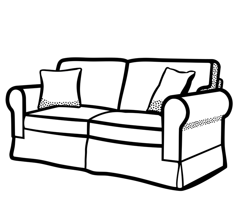 Couch clipart couch tv. An adventurous life june