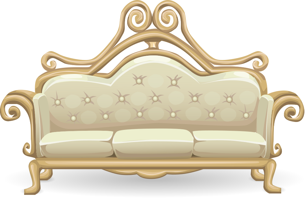 Onlinelabels clip art. Furniture clipart fancy sofa