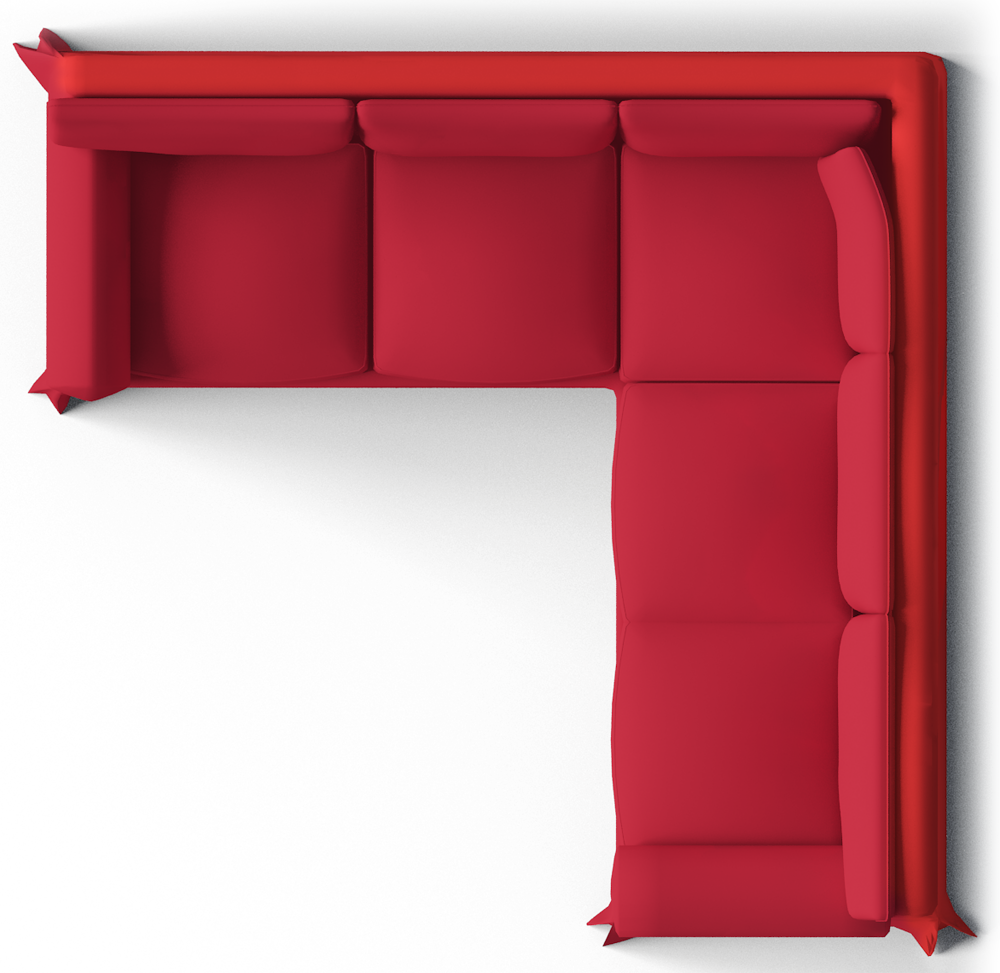 Ektorp seat corner bed. Couch clipart easy