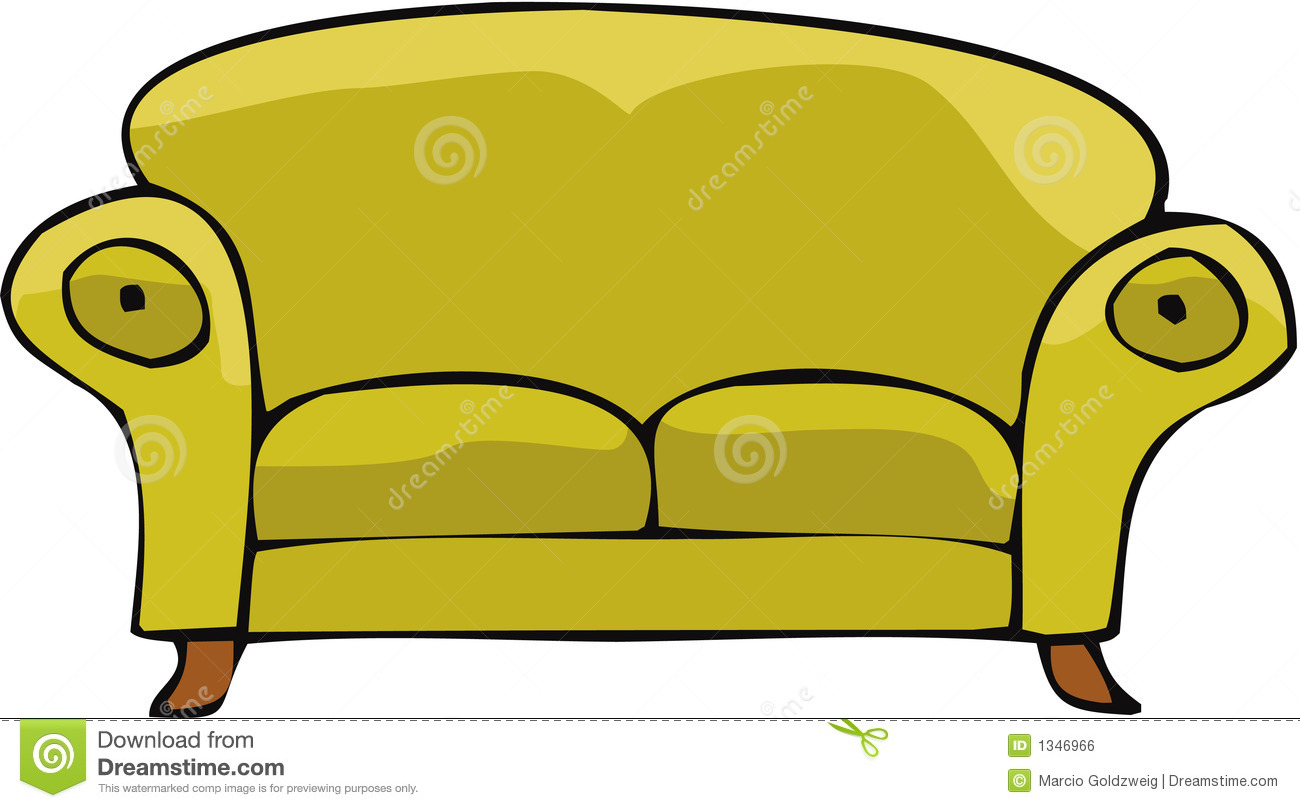 Download best on . Couch clipart free vector
